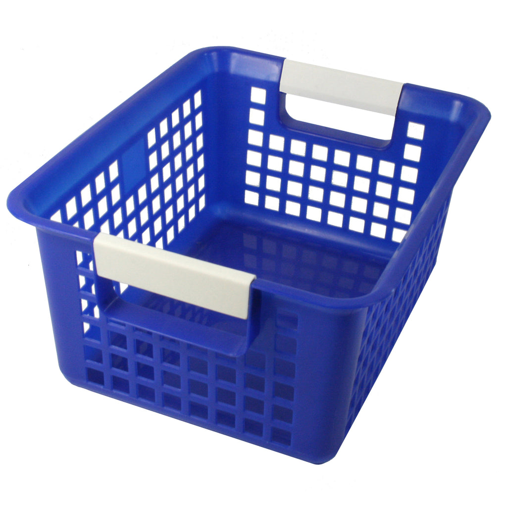 Romanoff Book Basket, Blue