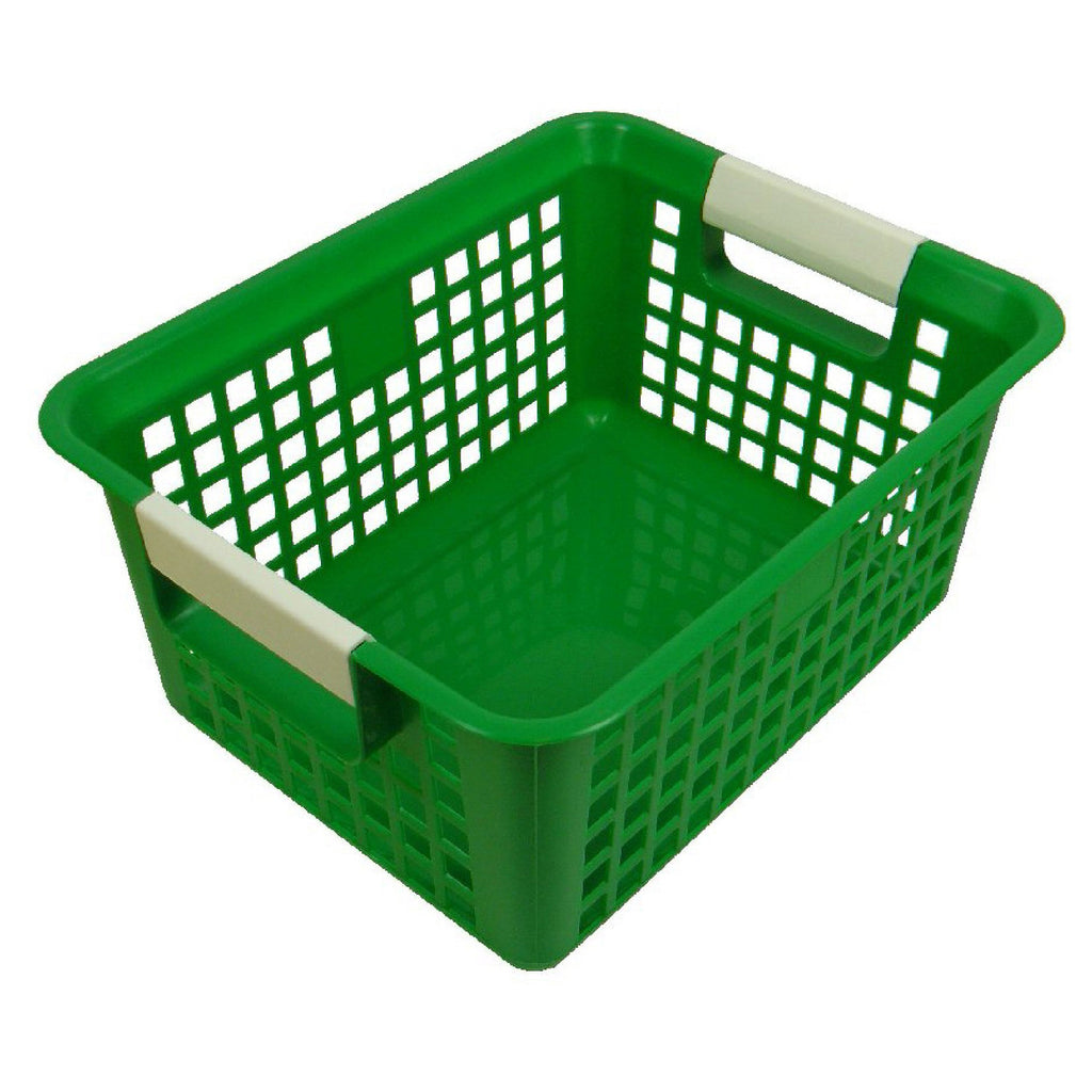 Romanoff Book Basket, Green