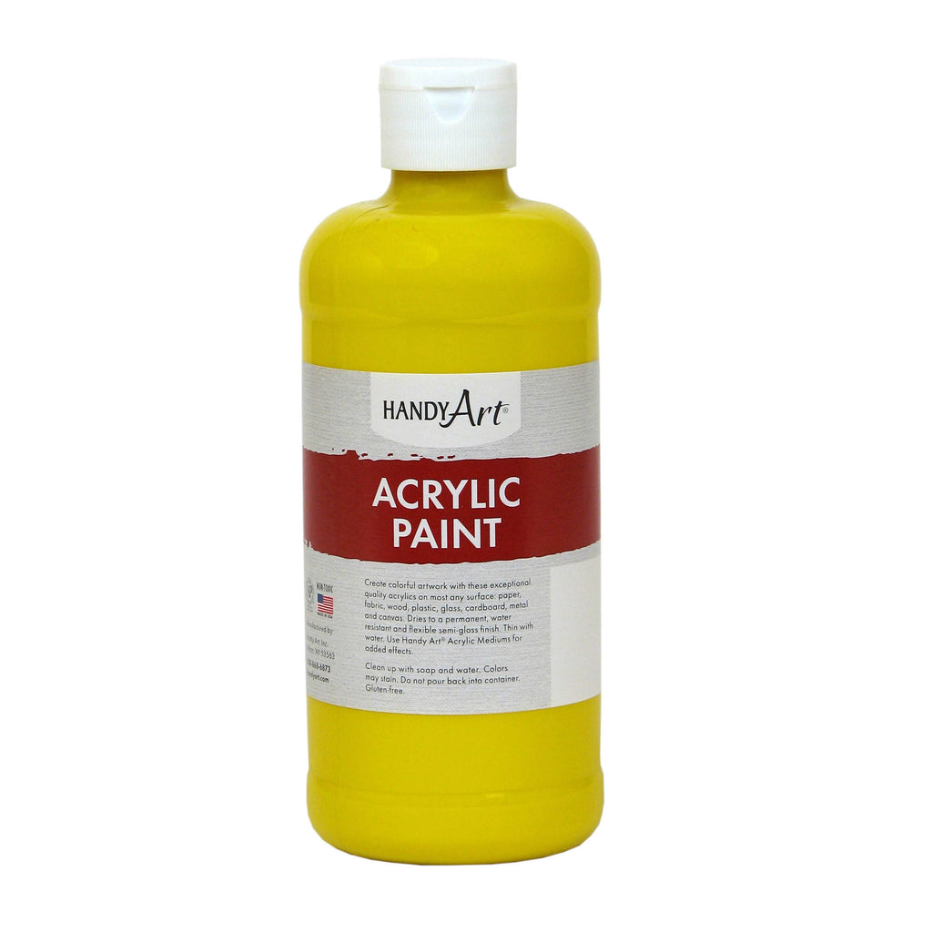 Handy Art® Acrylic Paint 16 Oz Chrome Yellow