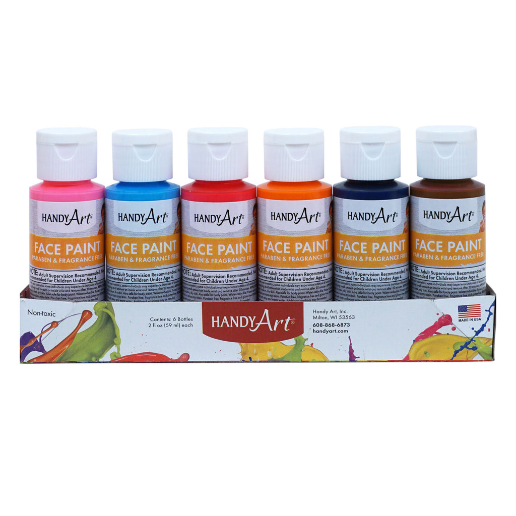 Handy Art® Washable Face Paint, Set of 6