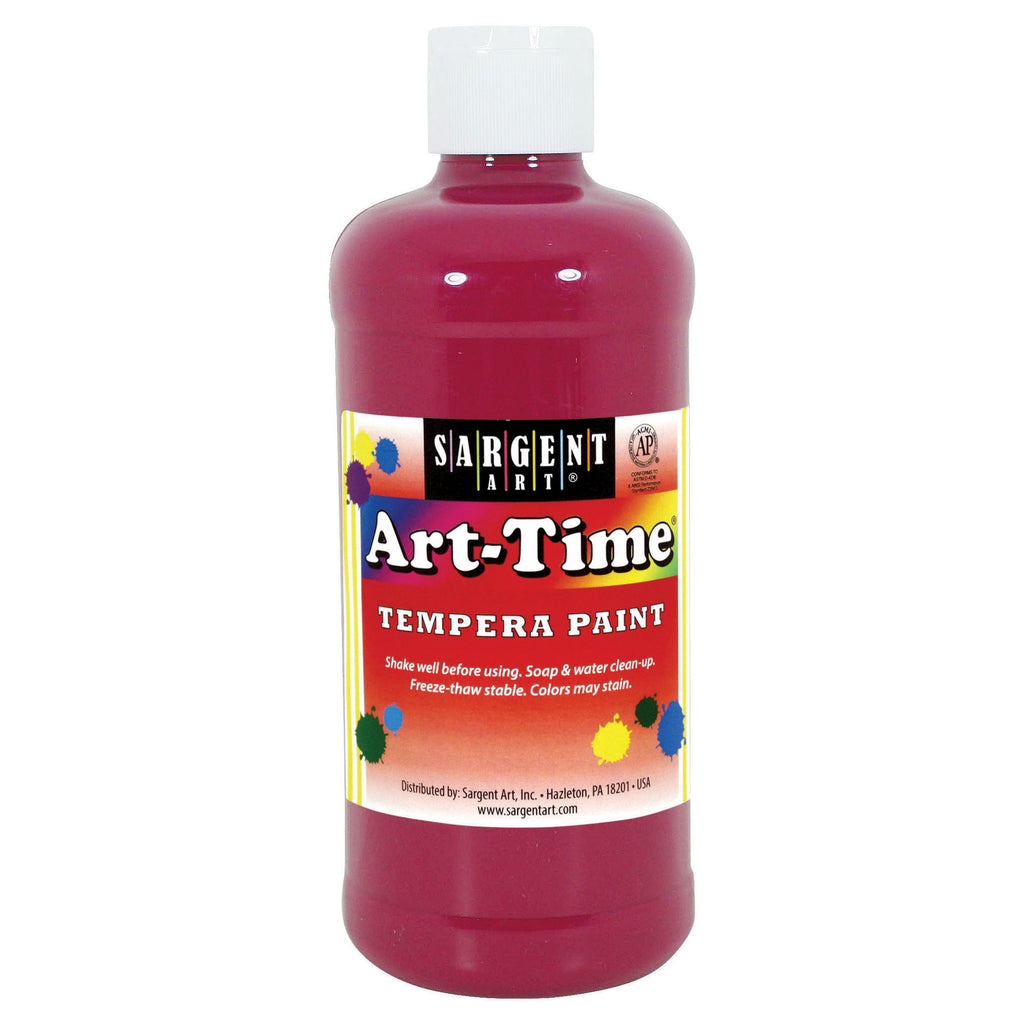 Sargent Art® Tempera Paint, 16 Oz. Magenta