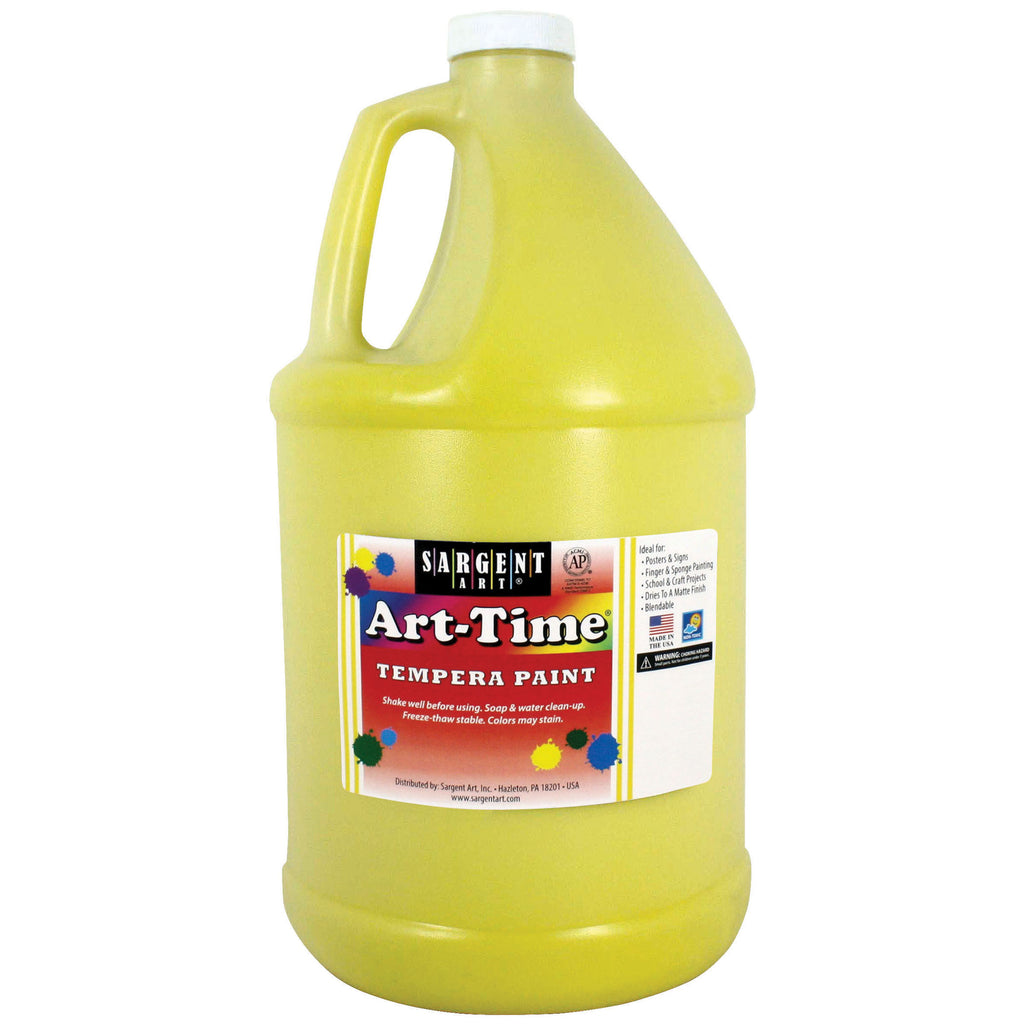 Sargent Art® Tempera Paint, 1 Gallon Yellow