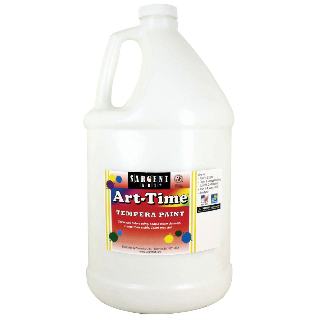 Sargent Art® Tempera Paint, 1 Gallon White