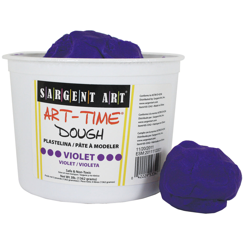 Sargent Art® 3 Lb Art Time Dough - Violet