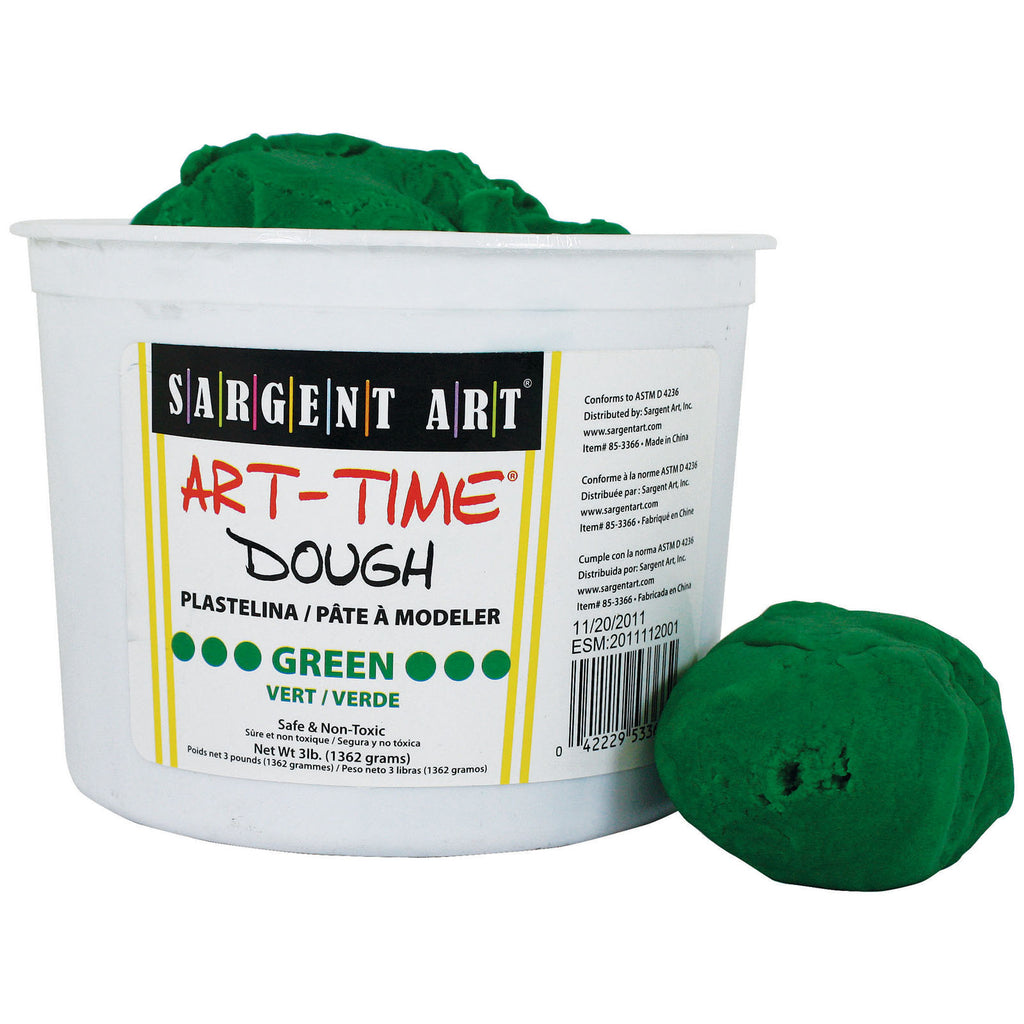 Sargent Art® 3 Lb Art Time Dough - Green
