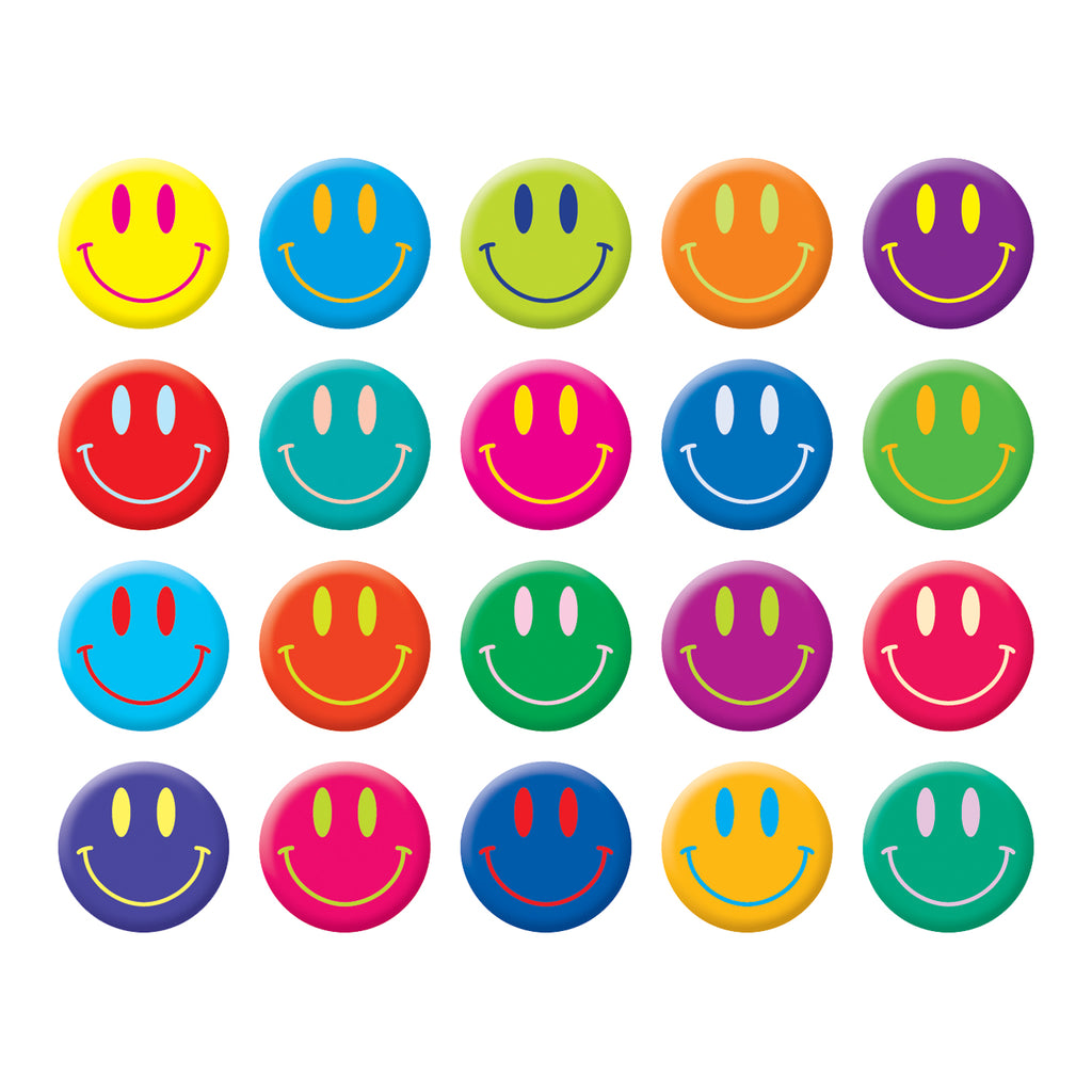 Scholastic Smiley Faces Stickers