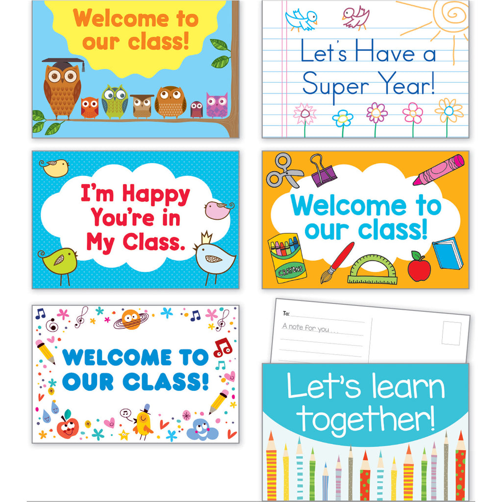 Scholastic Back-to-School Postcards