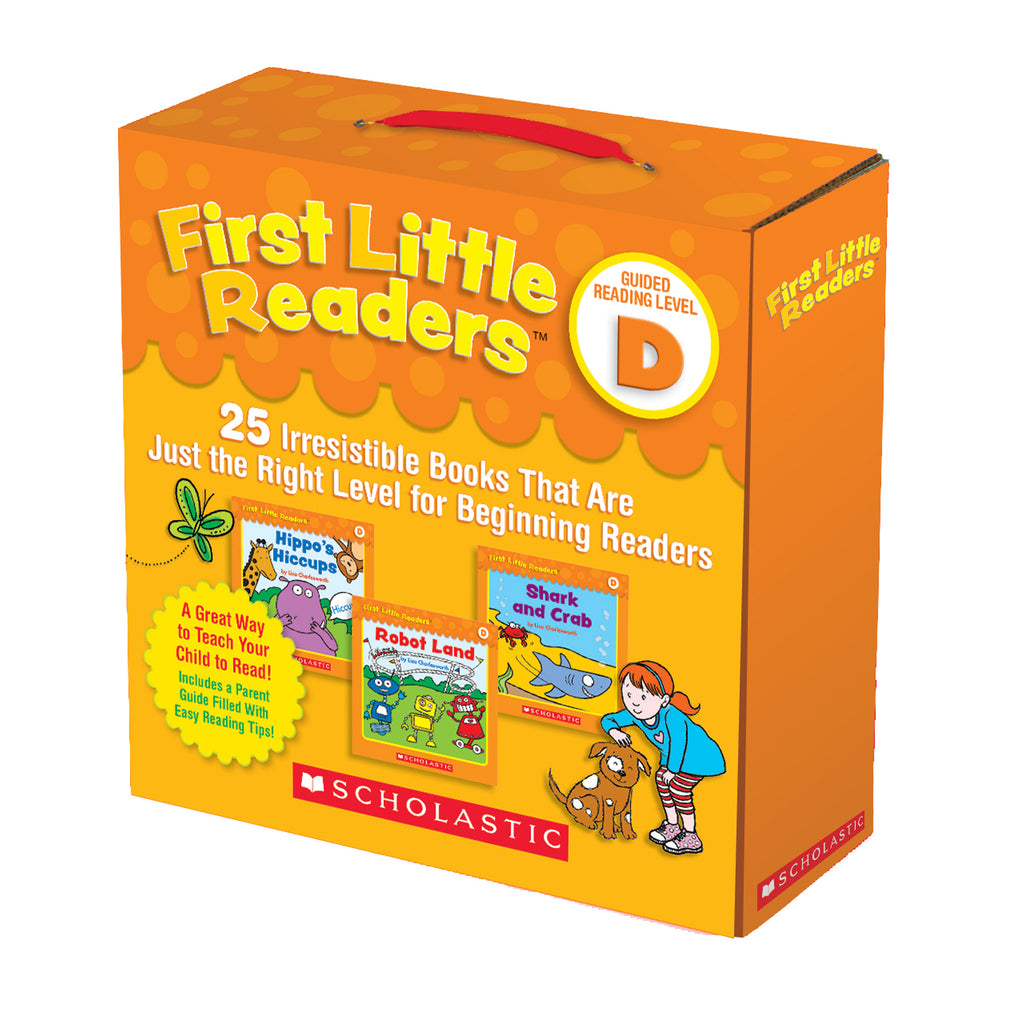 Scholastic First Little Readers Parent Pack: Guided Reading Level D