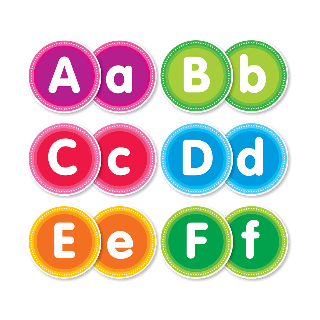 Scholastic Color Your Classroom: Alphabet Bulletin Board Set