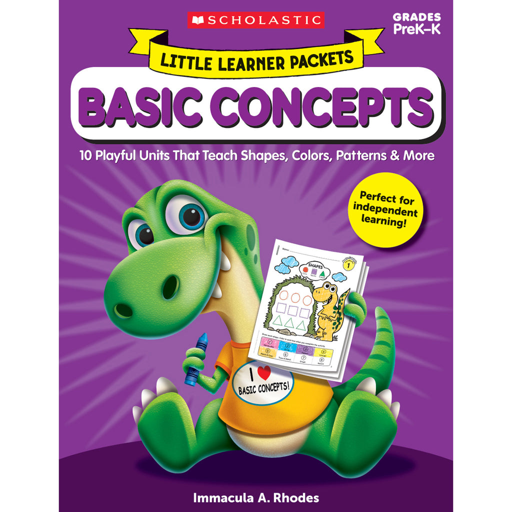 Scholastic Little Learner Packets: Basic Concept