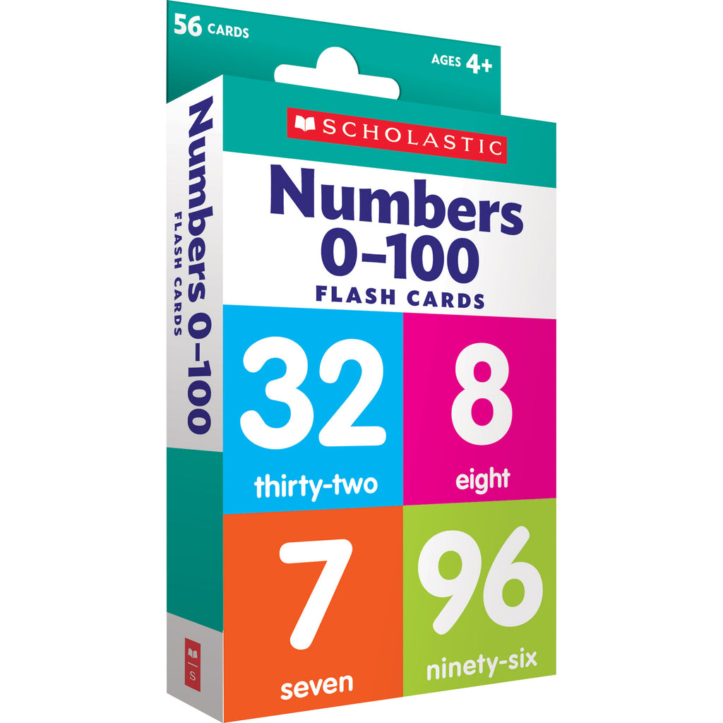 Scholastic Flash Cards: Numbers 0 - 100