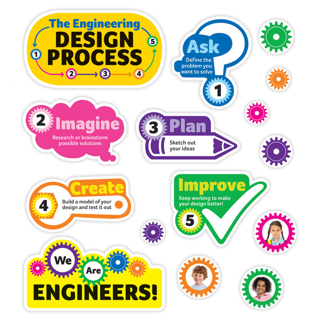 Scholastic We Are Engineers! Bulletin Board Set