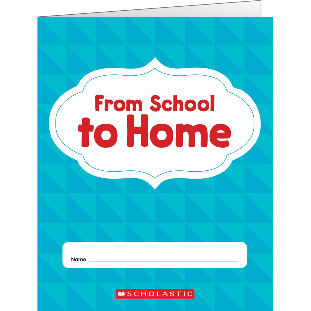 Scholastic From School to Home Folder