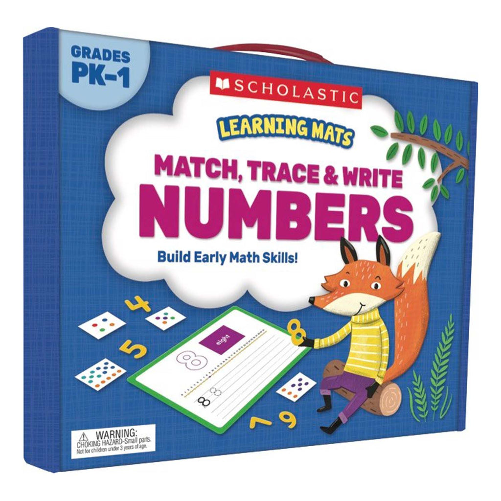 Scholastic Learning Mats: Match, Trace & Write Numbers