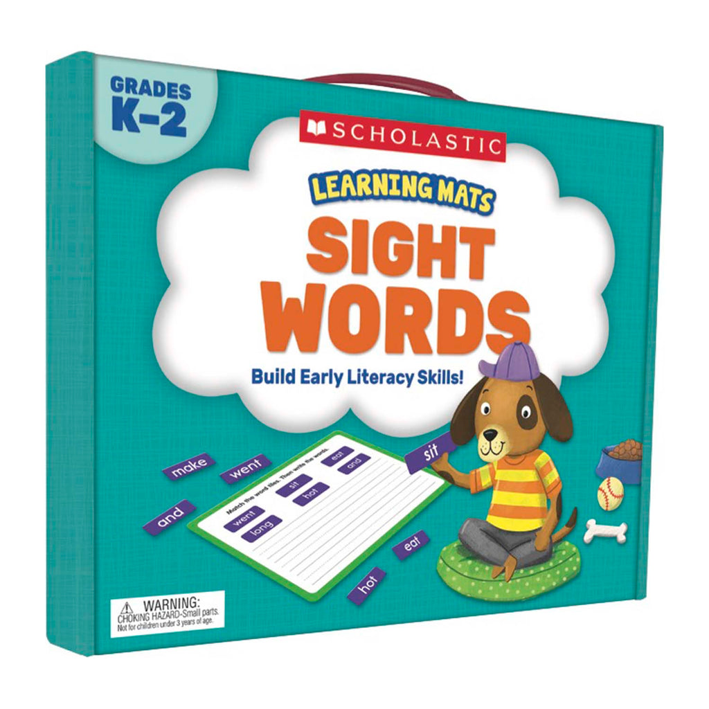 Scholastic Learning Mats: Sight Words