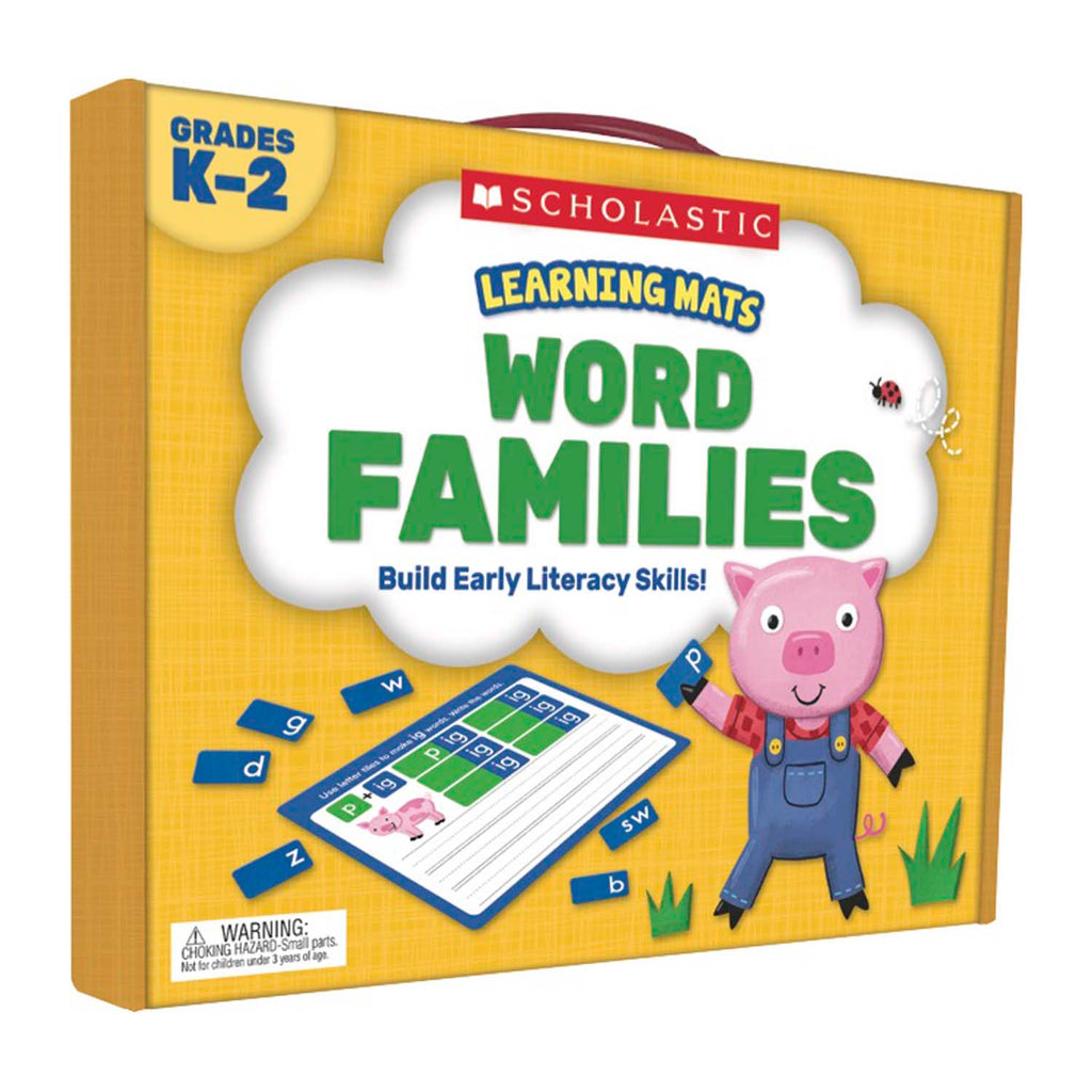 Scholastic Learning Mats: Word Families