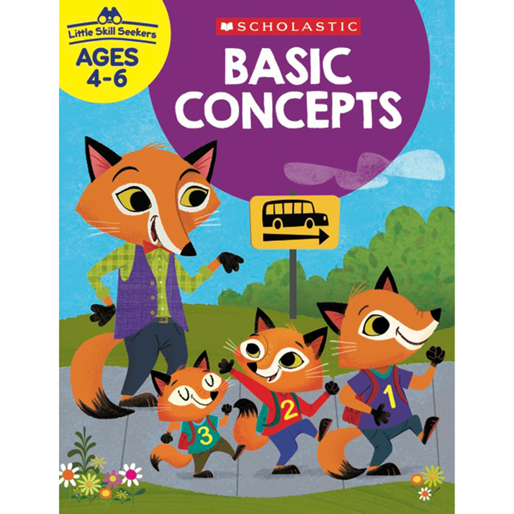 Scholastic Little Skill Seekers: Basic Concepts