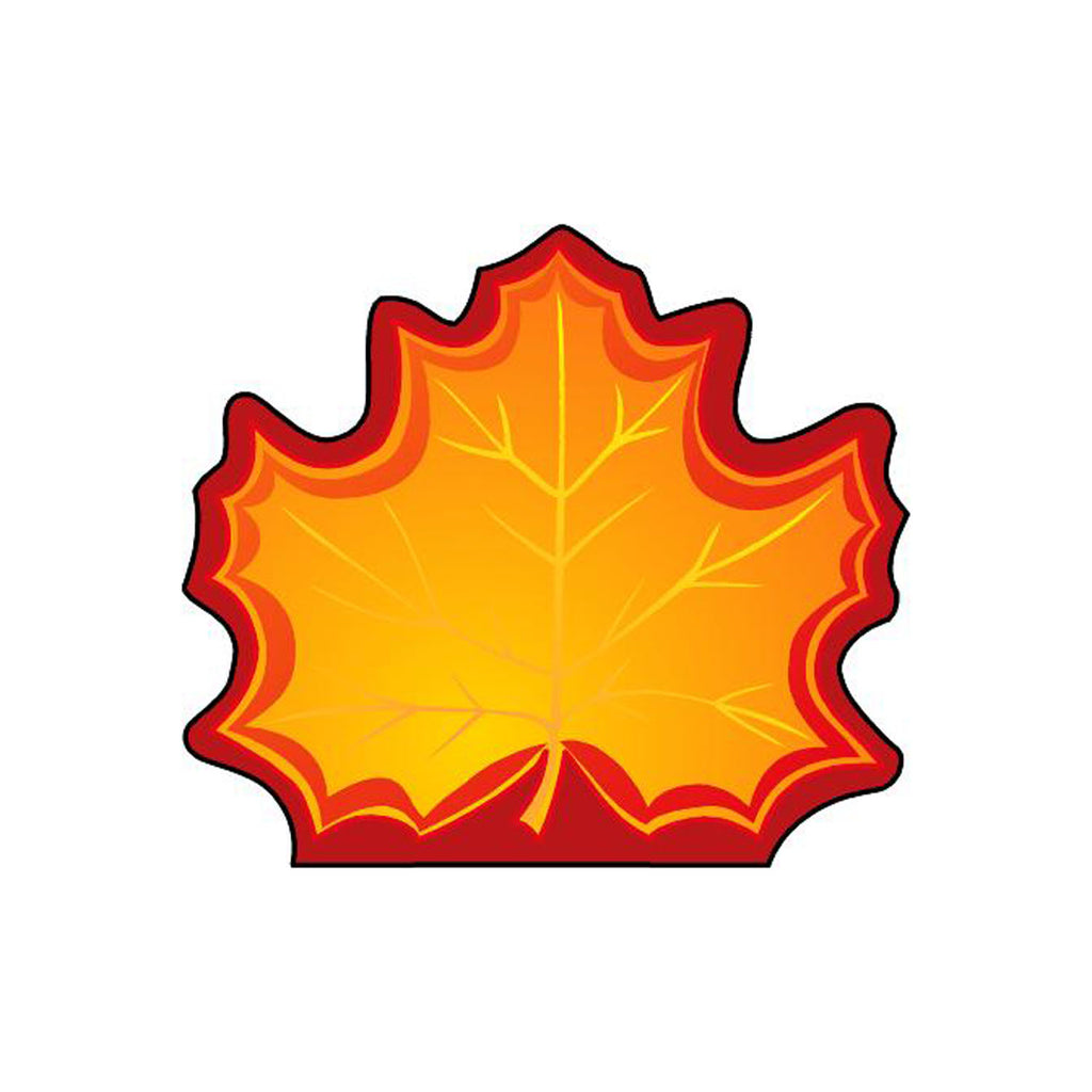 Creative Shapes Mini Notepads Maple Leaf