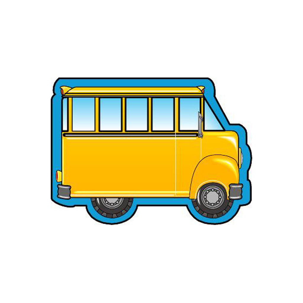 Creative Shapes Mini Notepads School Bus