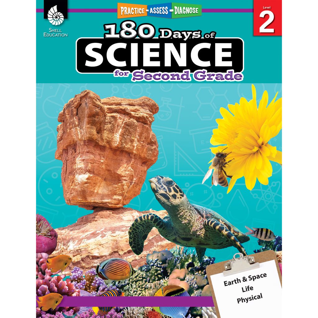 Shell Education 180 Days of Science for Second Grade