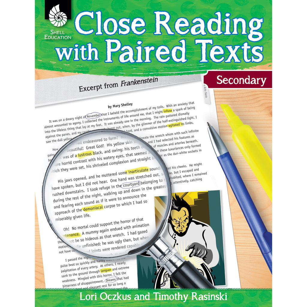 Shell Education Close Reading with Paired Texts, Secondary