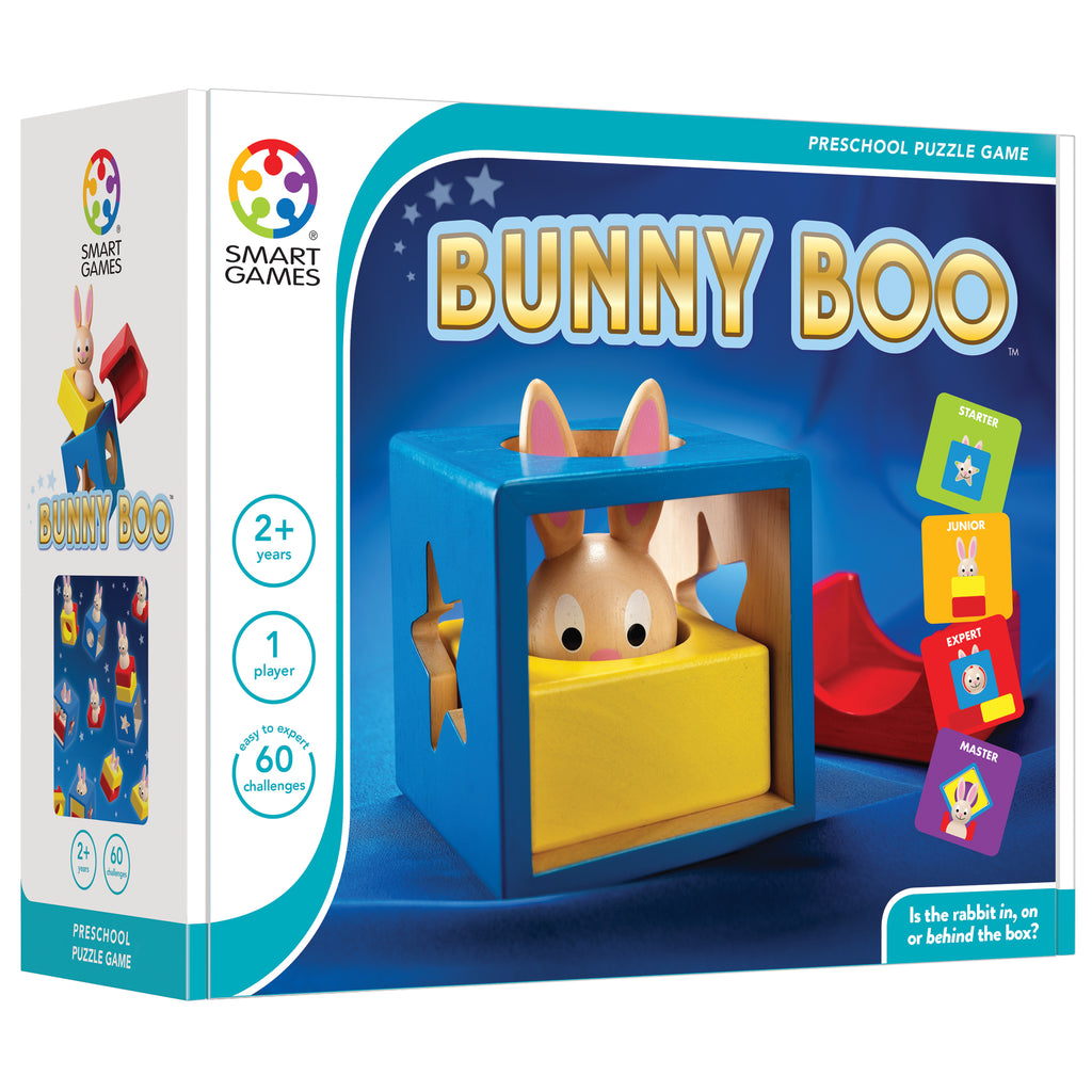 Smart Toys And Games Smart Games Bunny Peek A Boo Preschool Puzzle Game