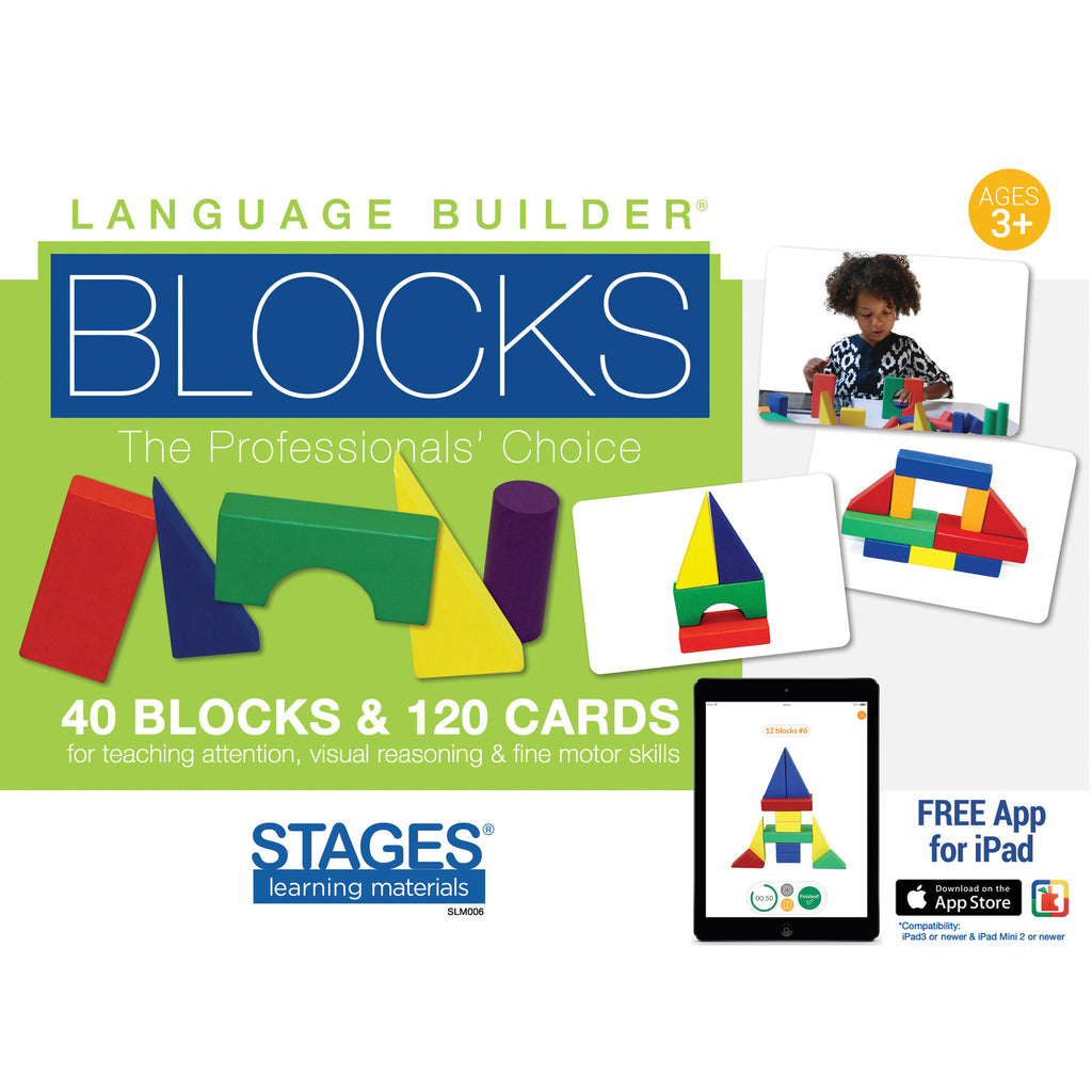 Stages Learning Materials Language Builder Blocks