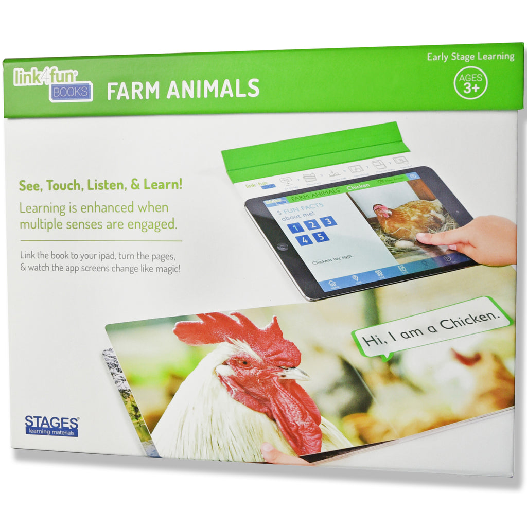 Stages Learning Materials Link4fun Farm Animals Book