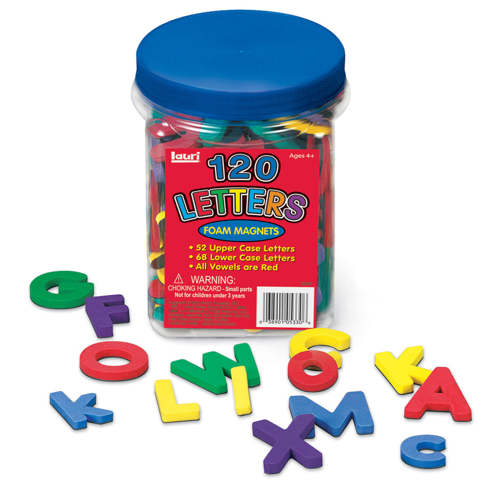 PlayMonster Magnetic Foam Letters