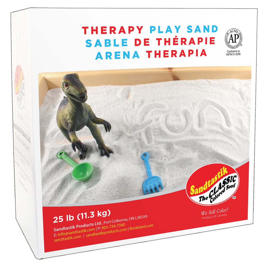 Sandtastik Therapy Play Sand, 25 Lbs