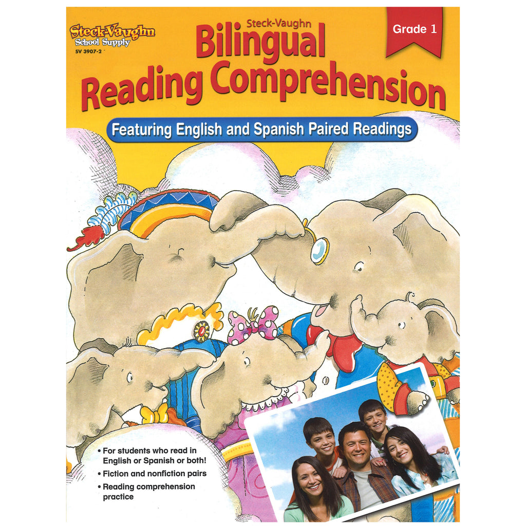 Houghton Mifflin Harcourt Bilingual Reading Comprehension Gd 1