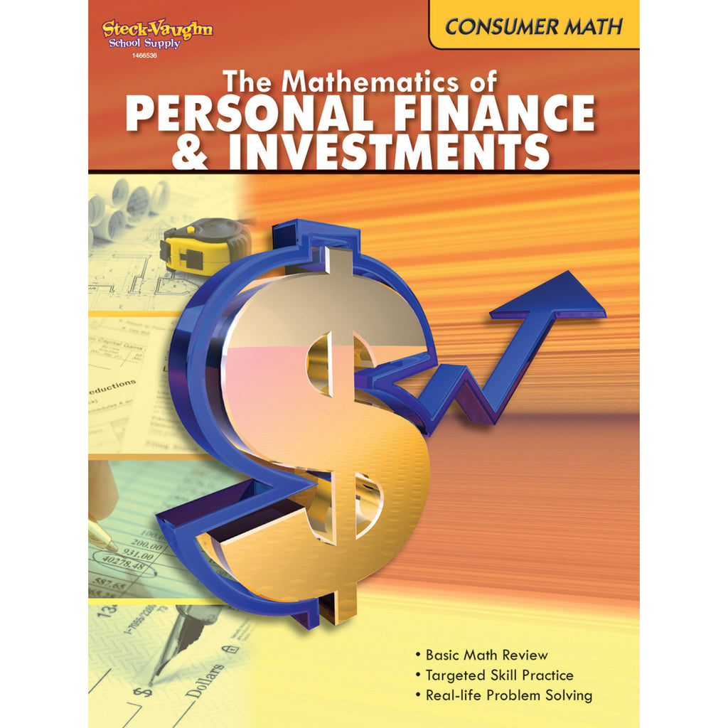 Houghton Mifflin Harcourt The Mathematics Of Personal Finance And Investments Gr 6 & Up