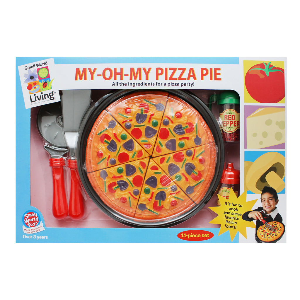 Small World Toys My-Oh-My Pizza Pie