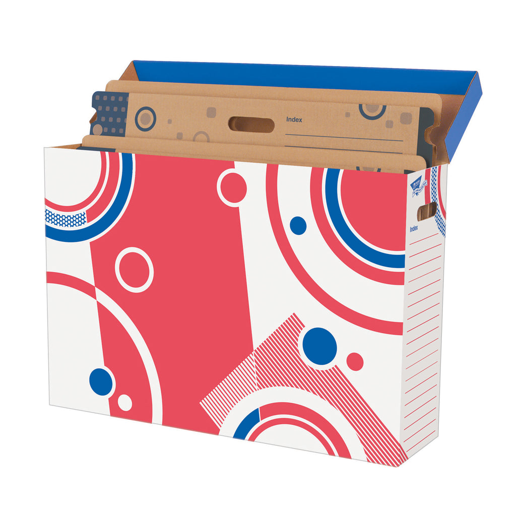 Trend Enterprises Bulletin Board Storage Box File 'n Save System®