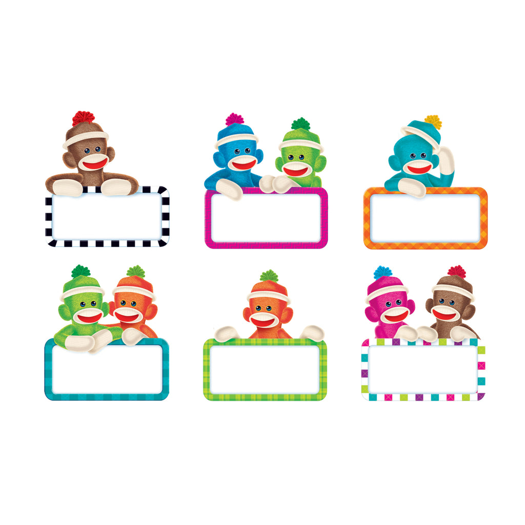 Trend Enterprises Sock Monkeys Signs Classic Accents® Variety Pack