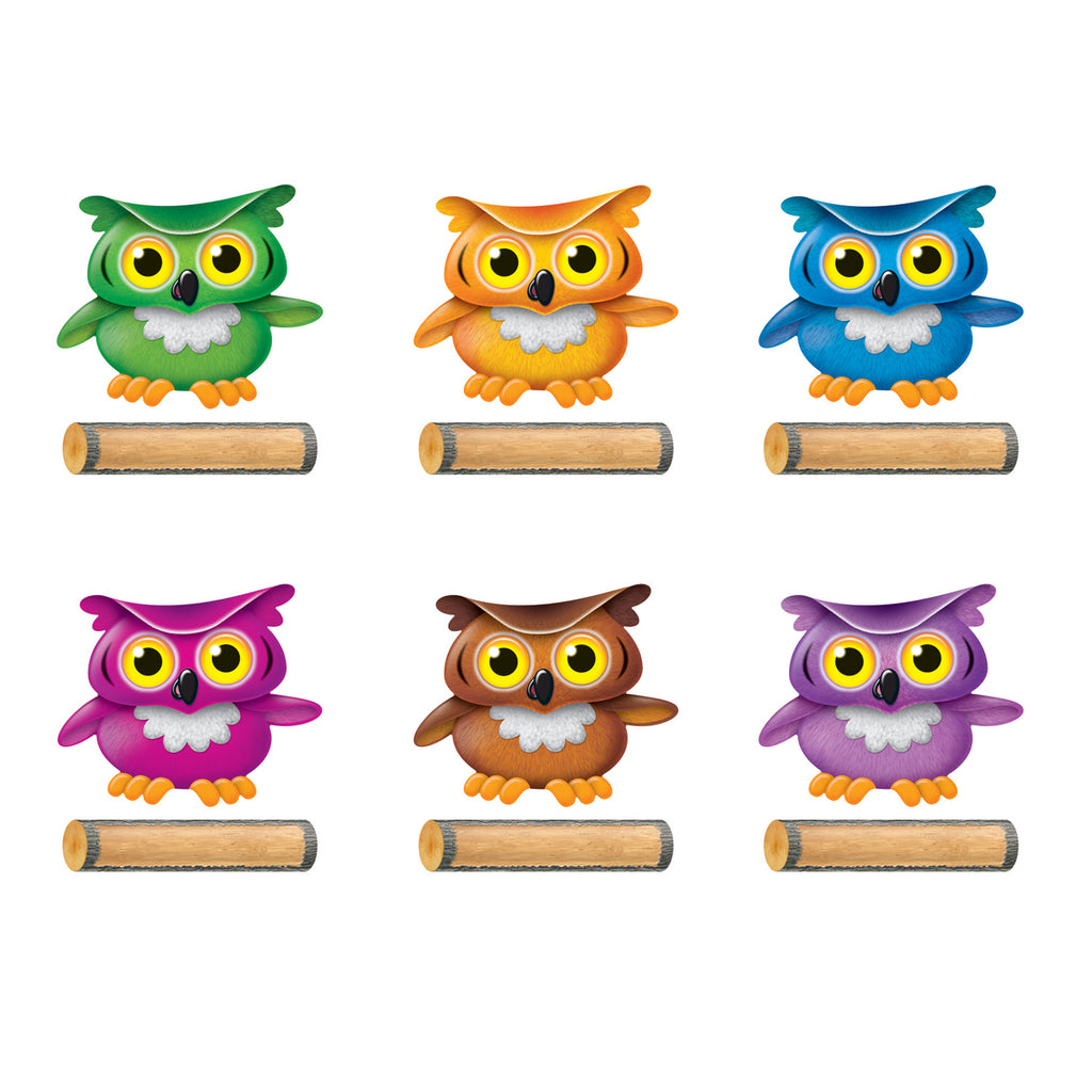 Trend Enterprises Bright Owls Classic Accents® Variety Pack