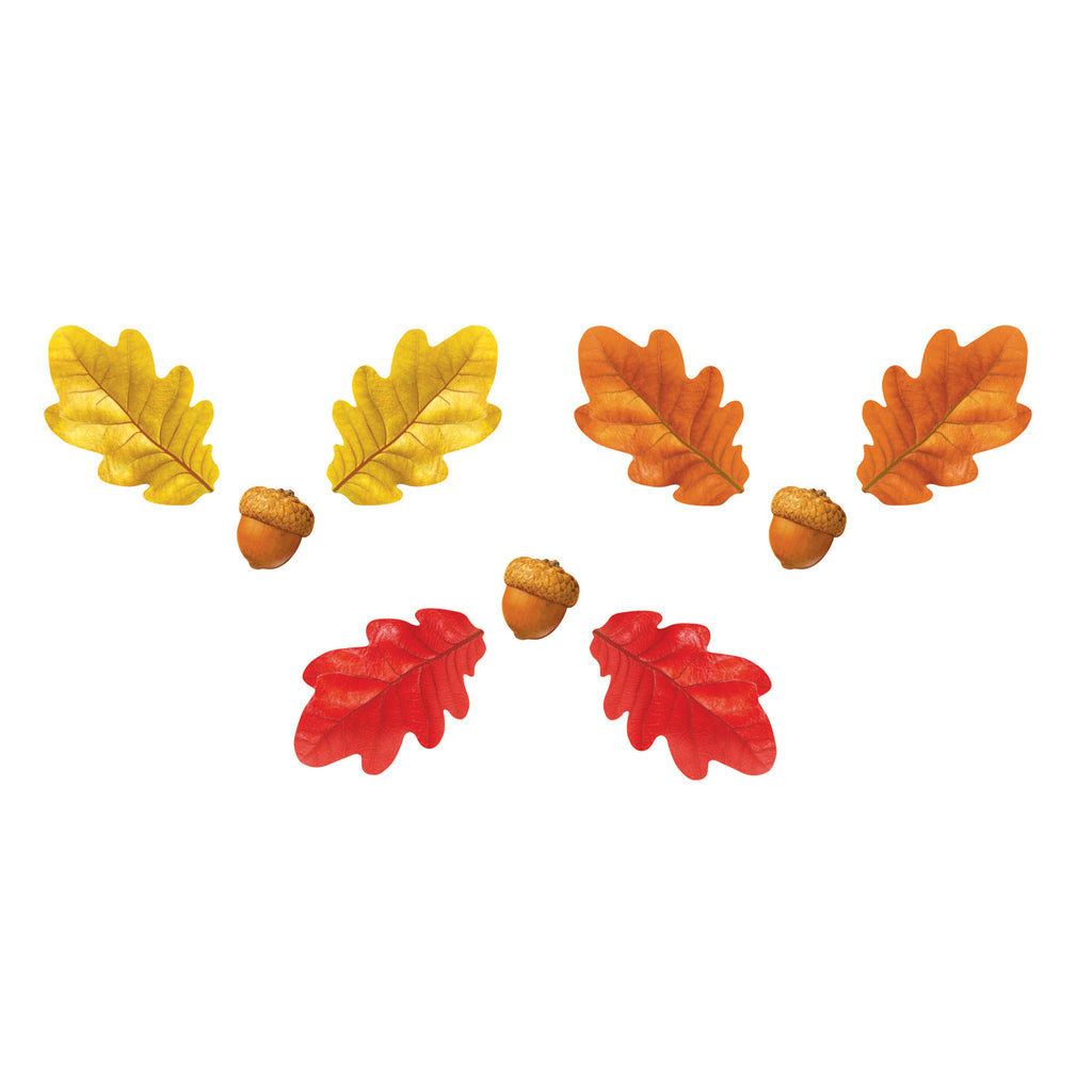 Trend Enterprises Fall Oak Leaves & Acorns Classic Accents® Variety Pack