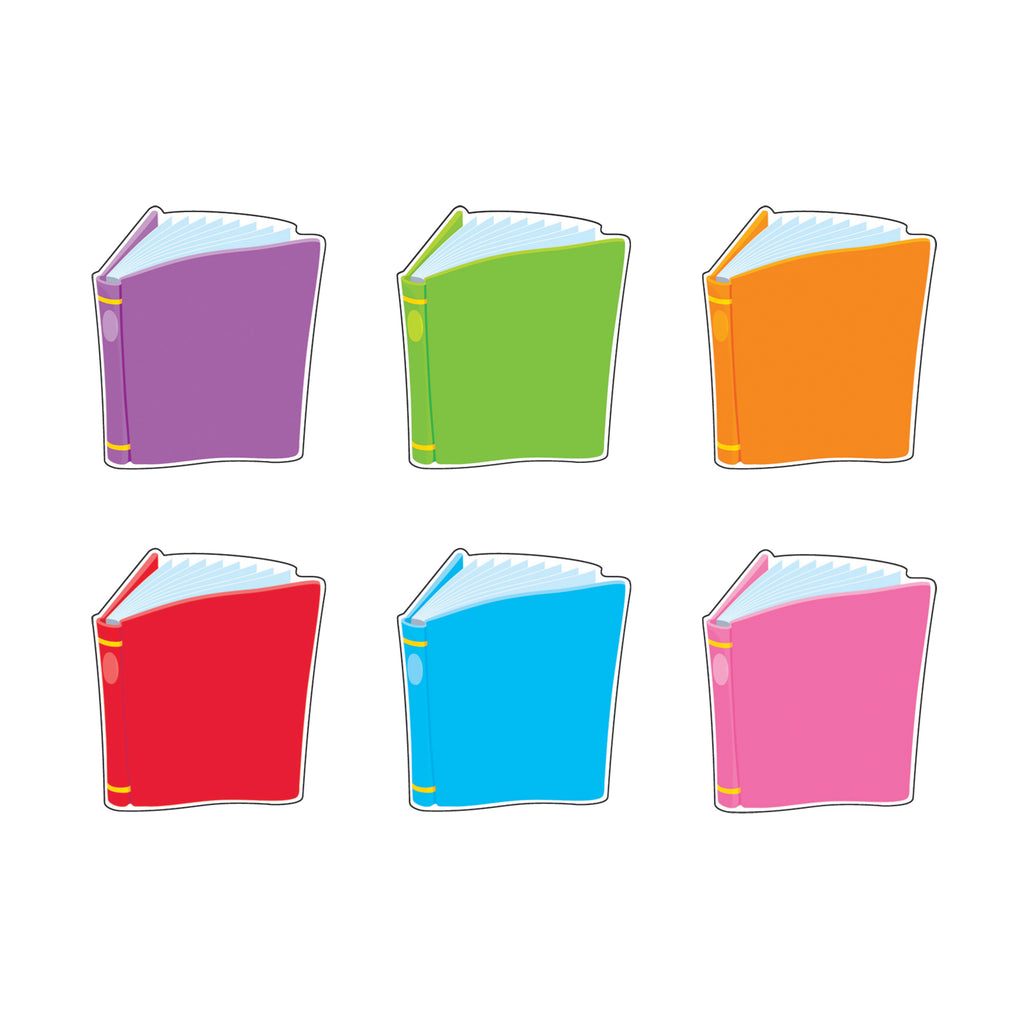 Trend Enterprises Bright Books Mini Accents Variety Pack