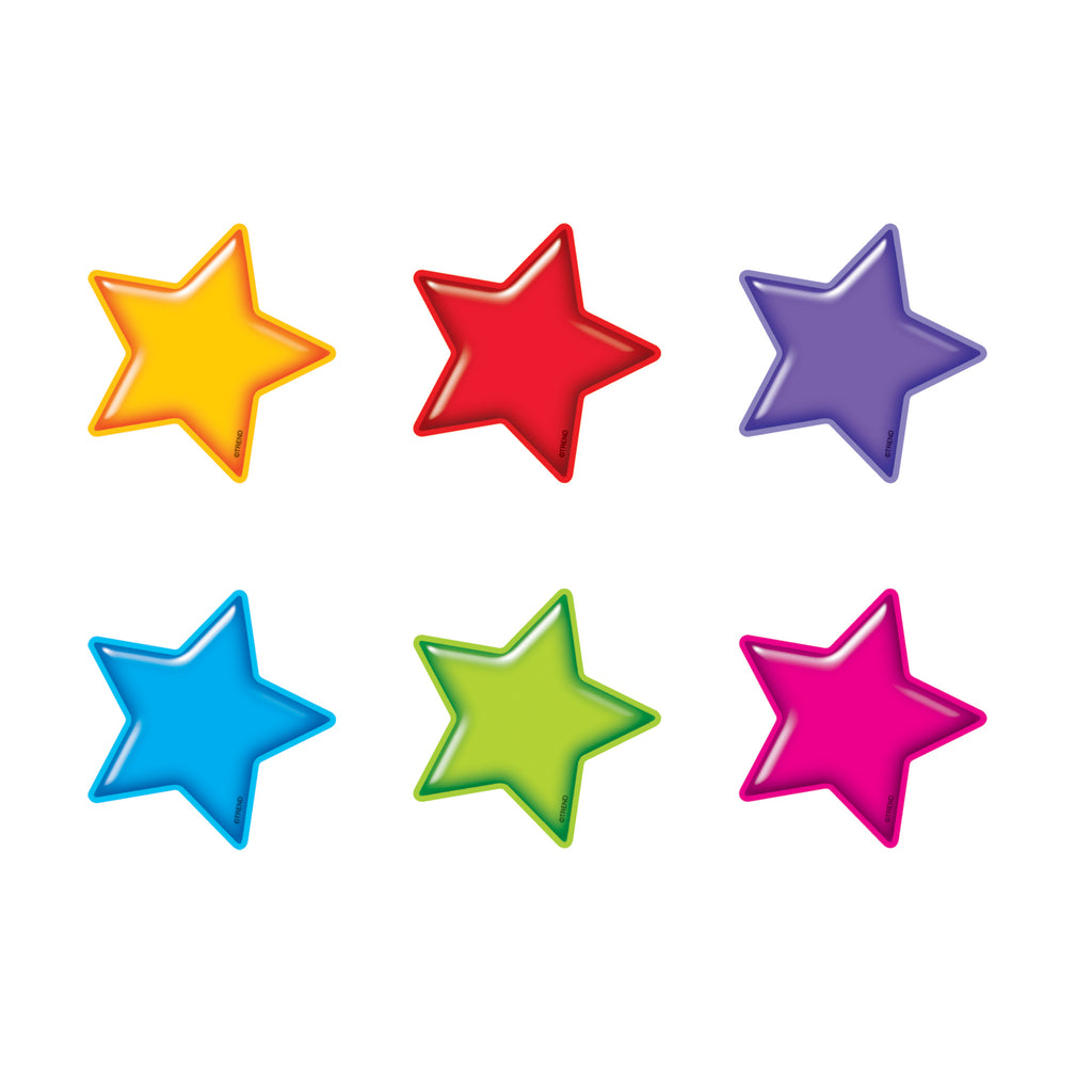 Trend Enterprises Gumdrop Stars Mini Accents Variety Pack