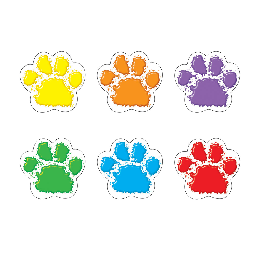 Trend Enterprises Paw Prints Mini Accents Variety Pack