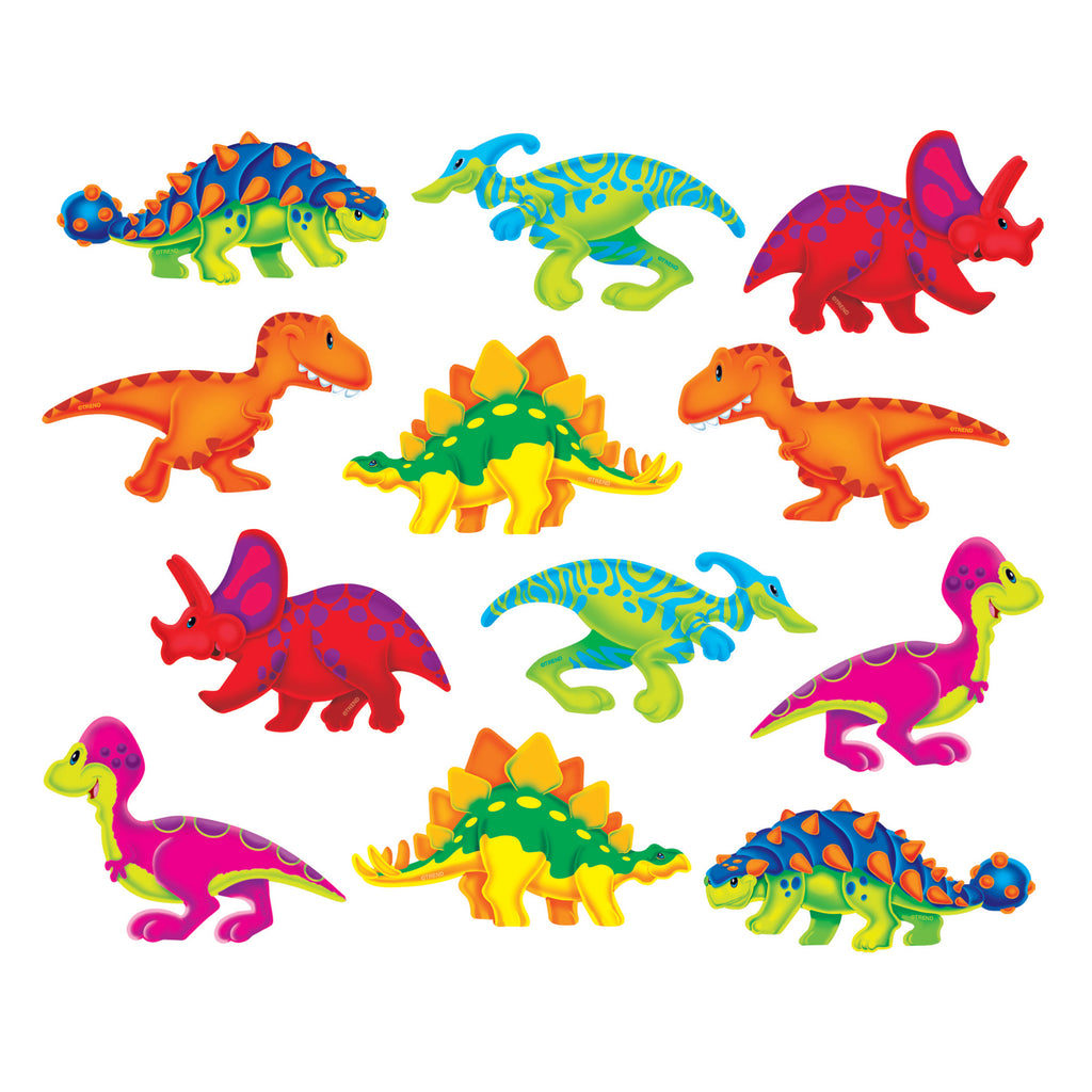 Trend Enterprises Dino-Mite Pals™ Mini Accents Variety Pack