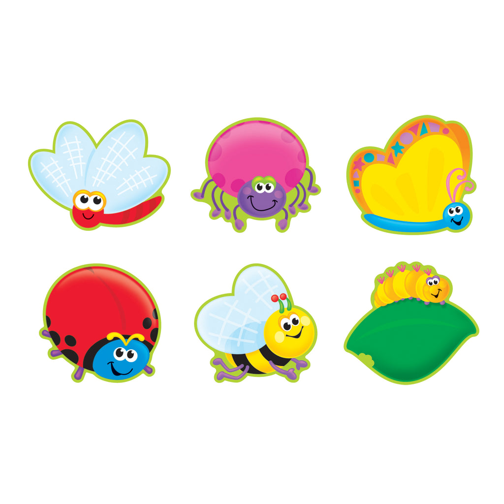 Trend Enterprises Bright Bugs Classic Accents® Variety Pack