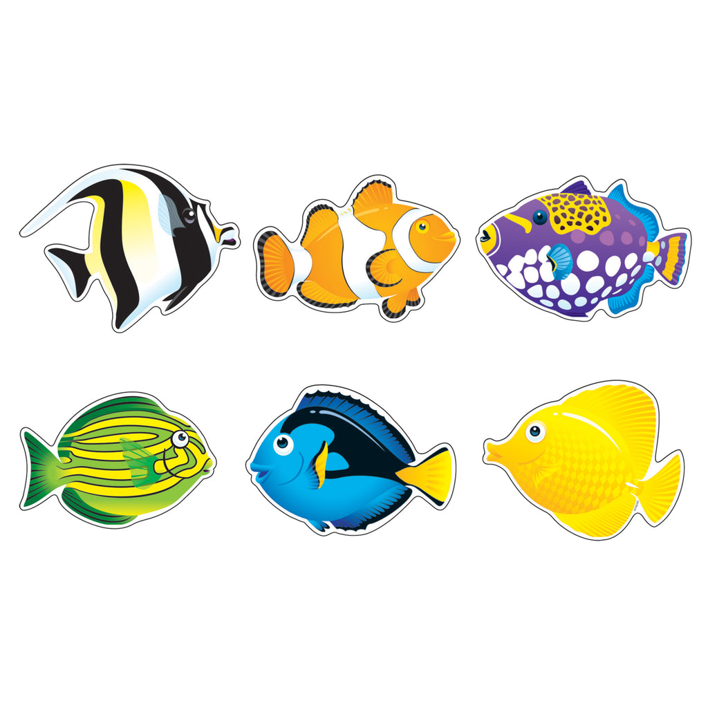 Trend Enterprises Fish Friends Classic Accents® Variety Pack