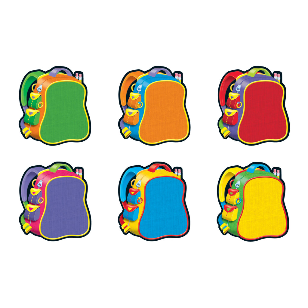 Trend Enterprises Bright Backpacks Classic Accents® Variety Pack