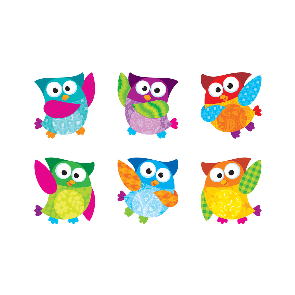 Trend Enterprises Owl-Stars!® Classic Accents® Variety Pack