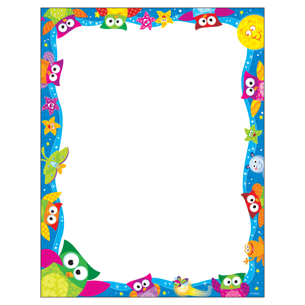 Trend Enterprises Owl-Stars!® Terrific Papers™