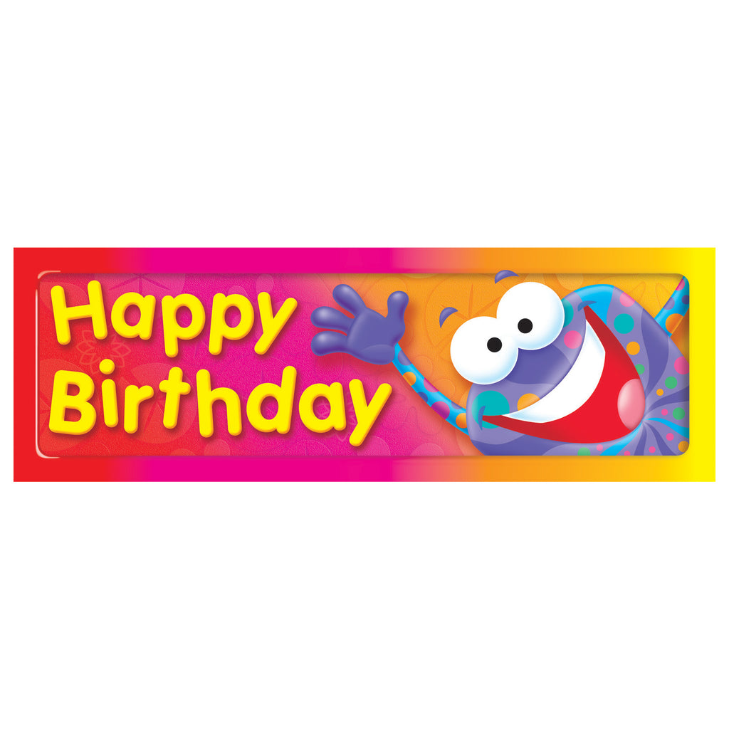 Trend Enterprises Happy Birthday (Frog-tastic!®) Bookmarks