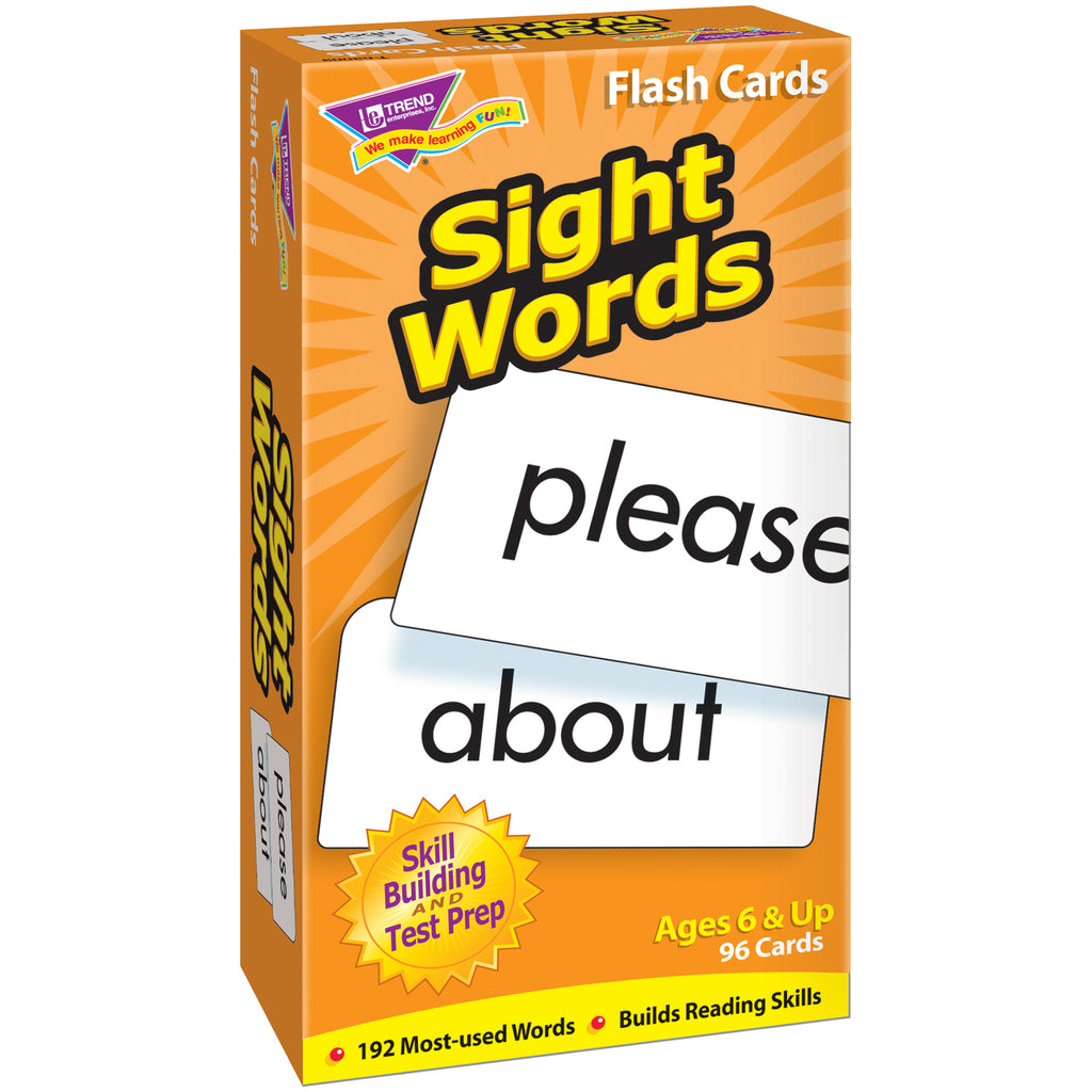 Trend Enterprises Sight Words Skill Drill Flash Cards