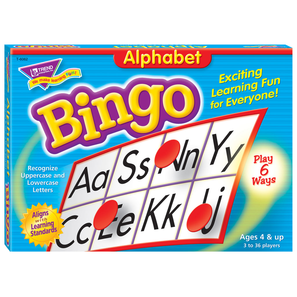 Trend Enterprises Alphabet Bingo Game