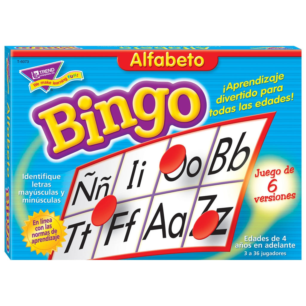 Trend Enterprises Alfabeto (SP) Bingo Game
